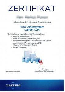Zertifikat-Funk-Alarmsystem-Daitem-D24-Web